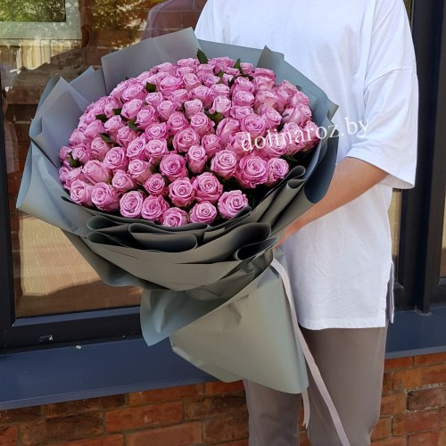 """Букет роз """"Мэри"""" 101 роза"""