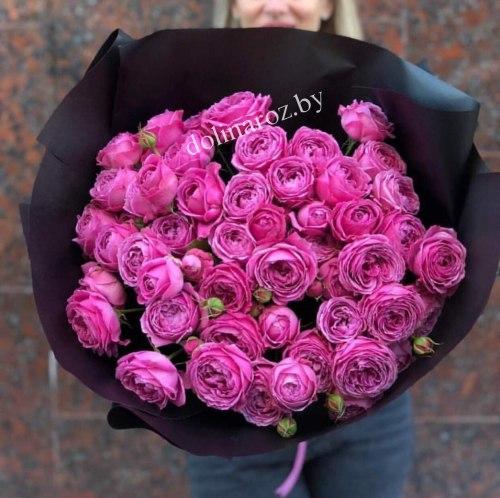 """Букет из пионовидных роз """"Полли"""""""
