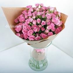"""Букет роз """"Мерси"""" Кустовые розы"""