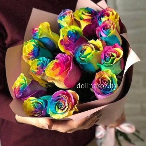 """Букет роз """"Фантазия"""" 15 роз"""