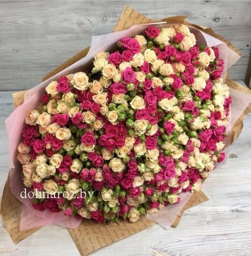 """Букет роз """"Нимфа"""" Кустовые розы"""