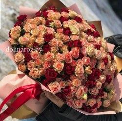 """Букет роз """"Прима"""" Кустовые розы"""