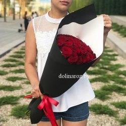 """Букет роз """"Импульс"""" 15 роз"""