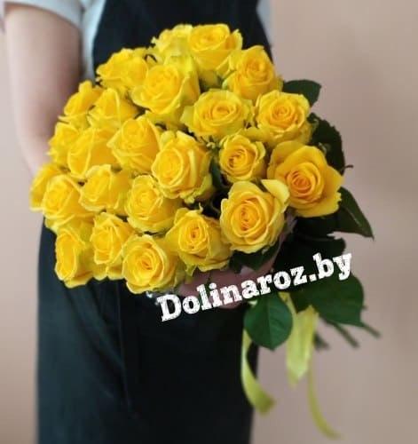 """Букет роз """"Вуаль"""" 25 роз"""
