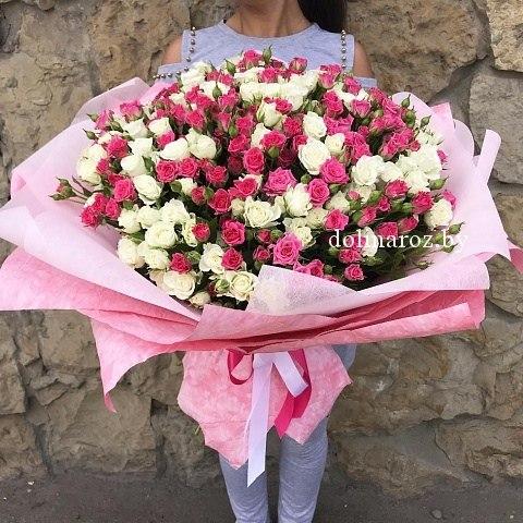 """Букет роз """"Лана"""" Кустовые розы"""