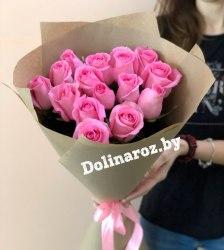 "Букет роз ""Послание"" 15 роз"
