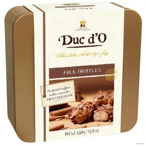 """Конфеты """"Duc d'O. Milk Truffles"""", 450 г"""