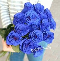 "Букет роз ""Синеглазка"" 15 роз"