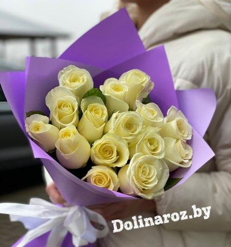 Букет роз «Миледи» 15 роз