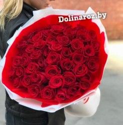 """Букет роз """"Жгучий поцелуй"""" 41 роза"""