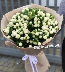 """Букет роз """"Белые ночи"""" 25 роз"""