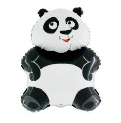 """Фольгированный шар """"Большая панда, Белый"""" 30″ (76 см)"""