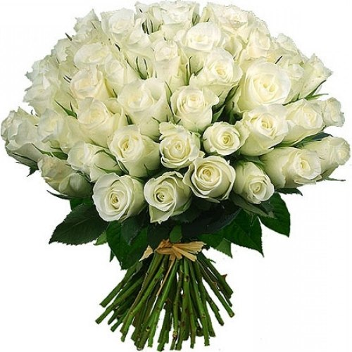 "Букет роз ""Белые"" 41 роза"