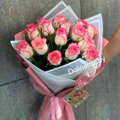 """Букет роз """"Джумилия"""" 15 роз"""