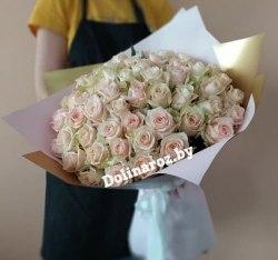 """Букет роз """"Одри"""" 51 роза"""