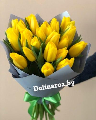 """Букет тюльпанов """"Желтый"""""""