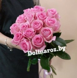 Букет роз «Лучик» 15 роз
