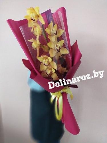 """Букет орхидей """"Золотой"""""""