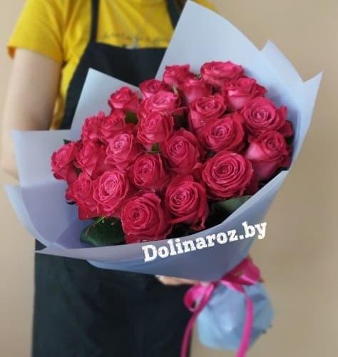 """Букет роз """"Багира"""" 25 роз"""