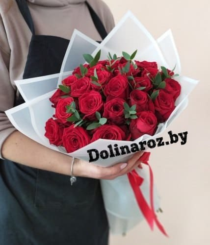"""Букет """"Гамма"""" 25 роз"""