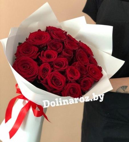 Букет роз «Индиго» 21 роза