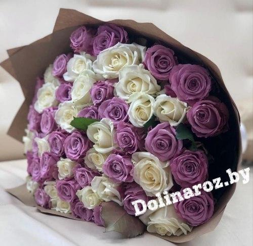 """Букет роз """"Оливия"""" 51 роза"""