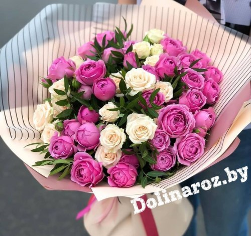 """Букет кустовых роз """"Мия"""" Кустовые розы"""