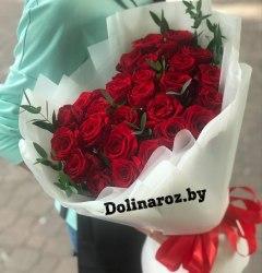 Букет роз «Поцелуй» 31 роза