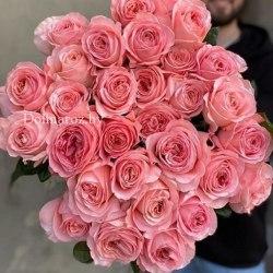 Роза Лондон Ай (London Eye) пионовидная