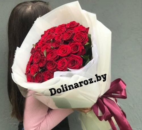 """Букет роз """"Барселона"""" 31 роза"""
