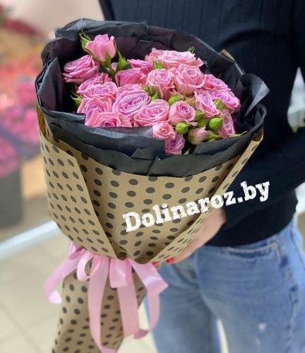 """Букет кустовых роз """"Одилия"""""""