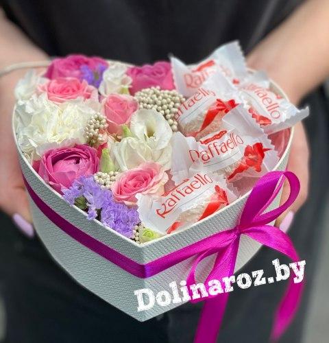 Цветы в коробке «Мечта»