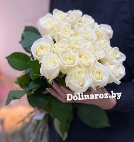 """Букет роз """"Белые ночи"""" 19 роз"""