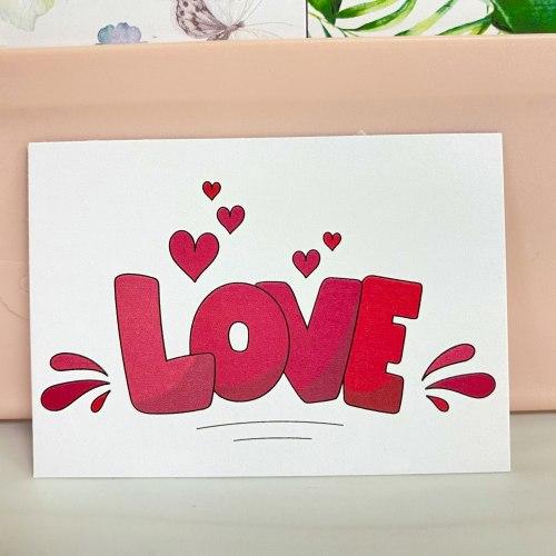 """Вкладыш """"LOVE. Буквы"""" 5*7"""