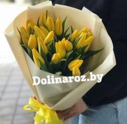Букет тюльпанов «Солнечное утро»