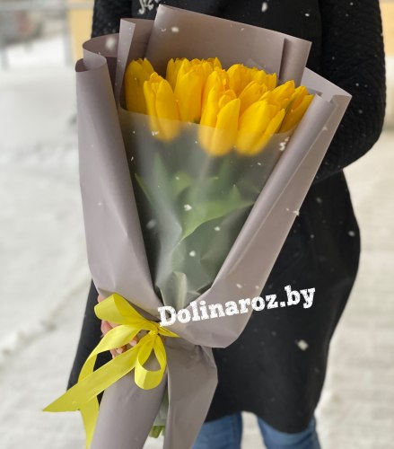 Букет тюльпанов «Яркий момент»