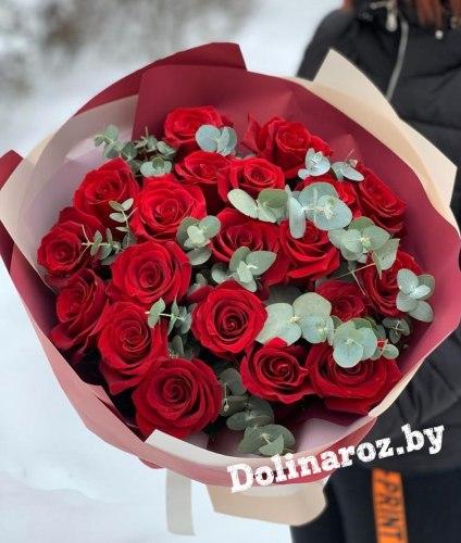 Букет роз «Стихия» 21 роза