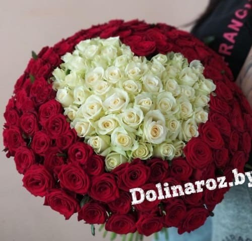 """Букет роз """"Love"""" 151 роза"""