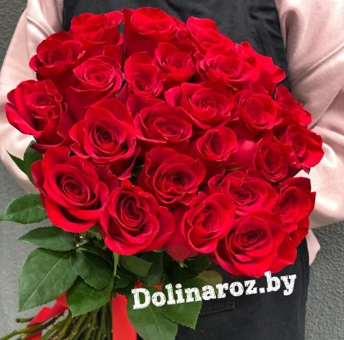 """Букет роз """"Страсть"""" 25 роз"""