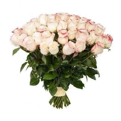 "Букет роз ""Светлый"" 51 роза"
