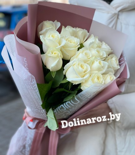 Букет роз «Хороший день» 15 роз