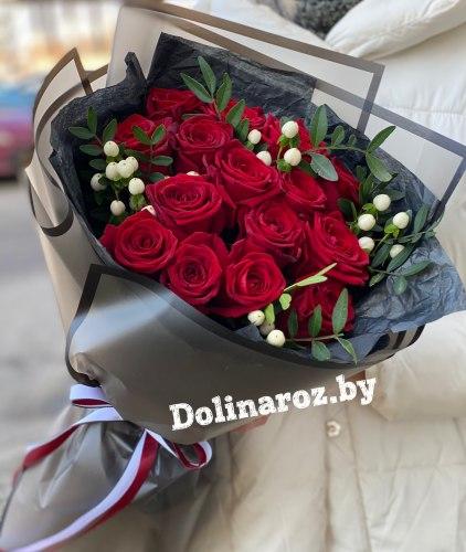 Букет роз «Мечта» 15 роз