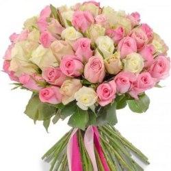 """Букет роз """"Небеса"""" 41 роза"""