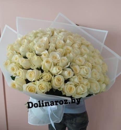 """Букет роз """"Вихрь"""" 101 роза"""