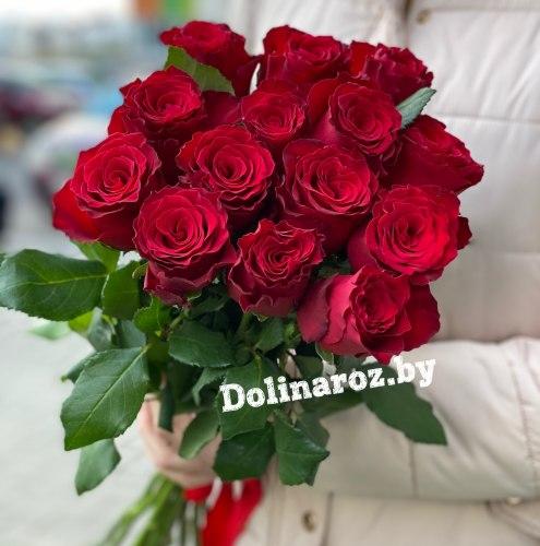 """Букет роз """"Родос 15"""" 15 роз"""