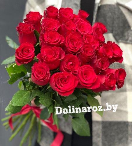 """Букет роз """"Родос 25"""" 25 роз"""