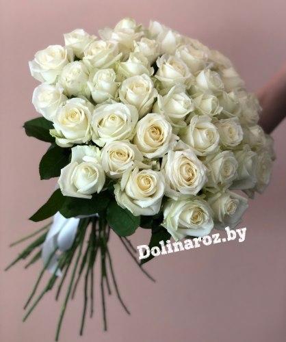 """Букет роз """"Белоснежный"""" 41 роза"""