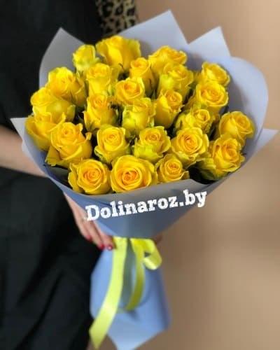 """Букет роз """"Акцент"""" 25 роз"""