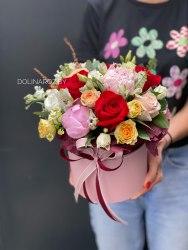 """Цветы в коробке """"Колорит"""""""