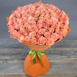 """Букет роз """"Смешанные чувства"""" 101 роза"""